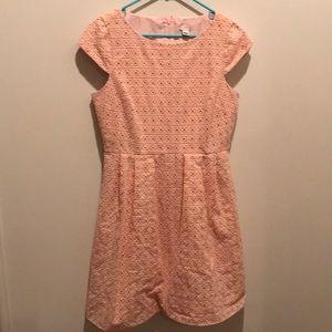 Pink J Crew Sun Dress